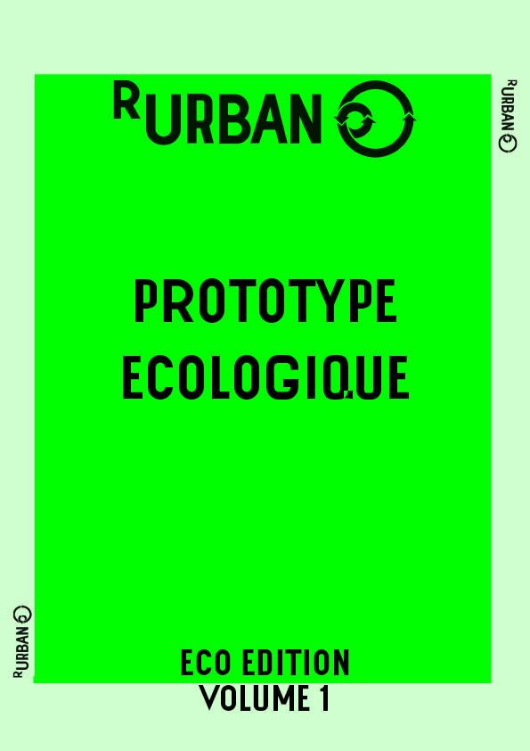 affiche prototype ecologique