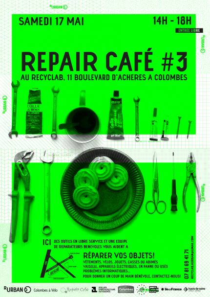 Pour plus d'informations sur les Repair Café, visitez le site officiel : http://repaircafe.org/fr/
