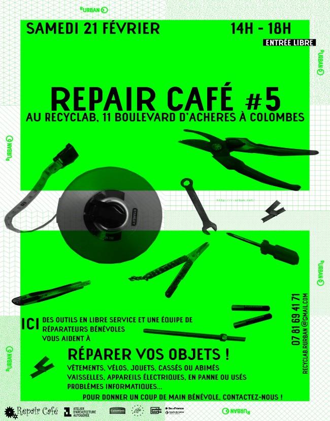 Affiche Repair Café #5