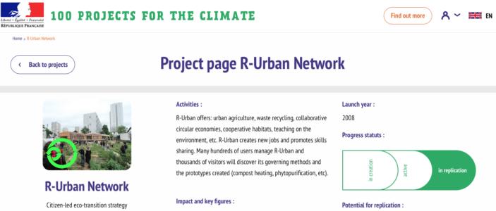 100projects pour le climat